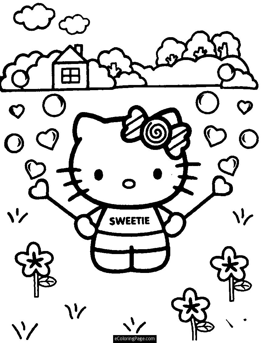 Girls Coloring Pages 01