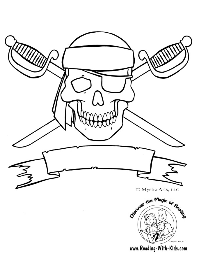 pirate coloring page 01