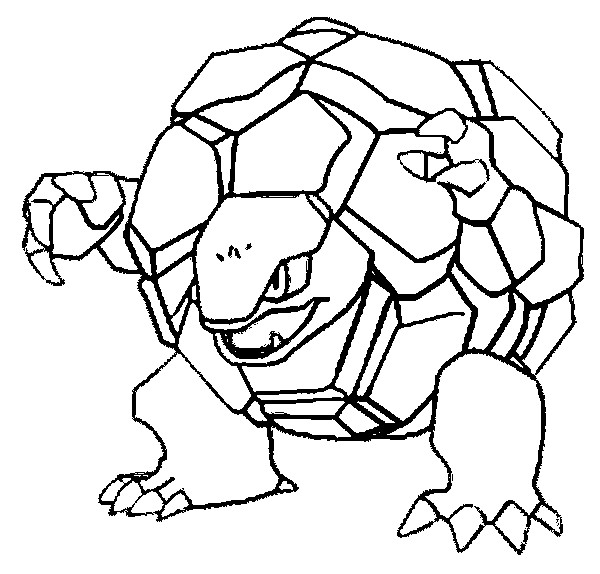 pokemon golem coloring pages 01
