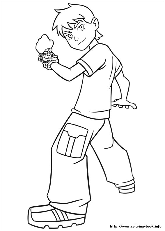 Ben 10 Coloring Pages Printable 01