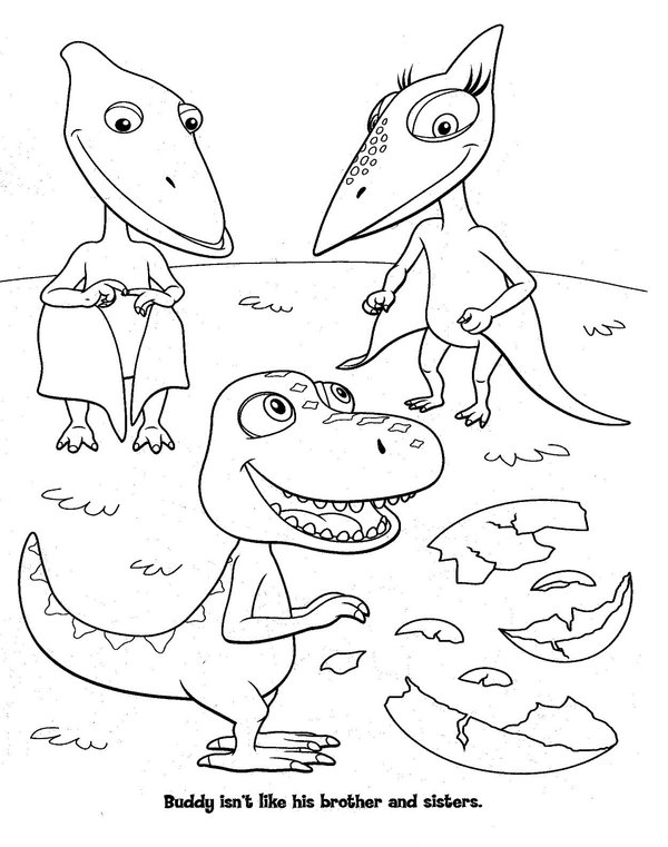 dinosaur train coloring pages only coloring pages. Black Bedroom Furniture Sets. Home Design Ideas