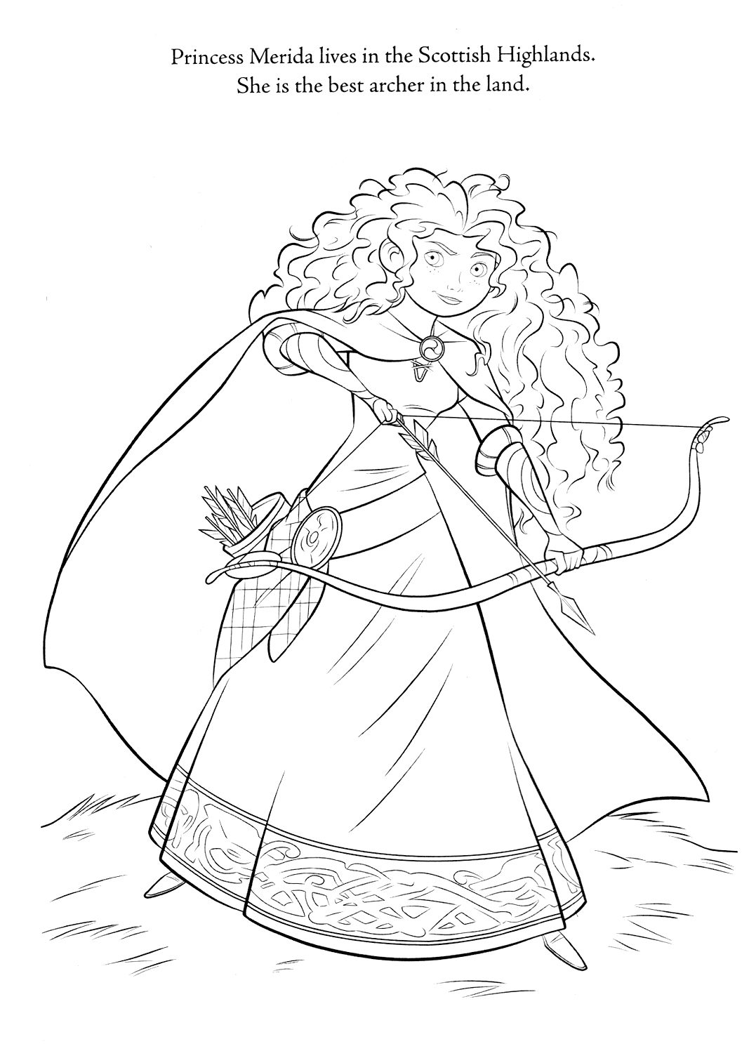 disney brave coloring pages 01