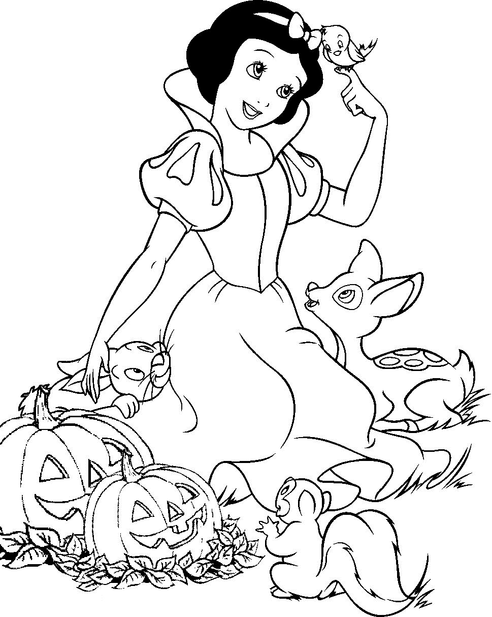 Disney Coloring Pages For Kids 01