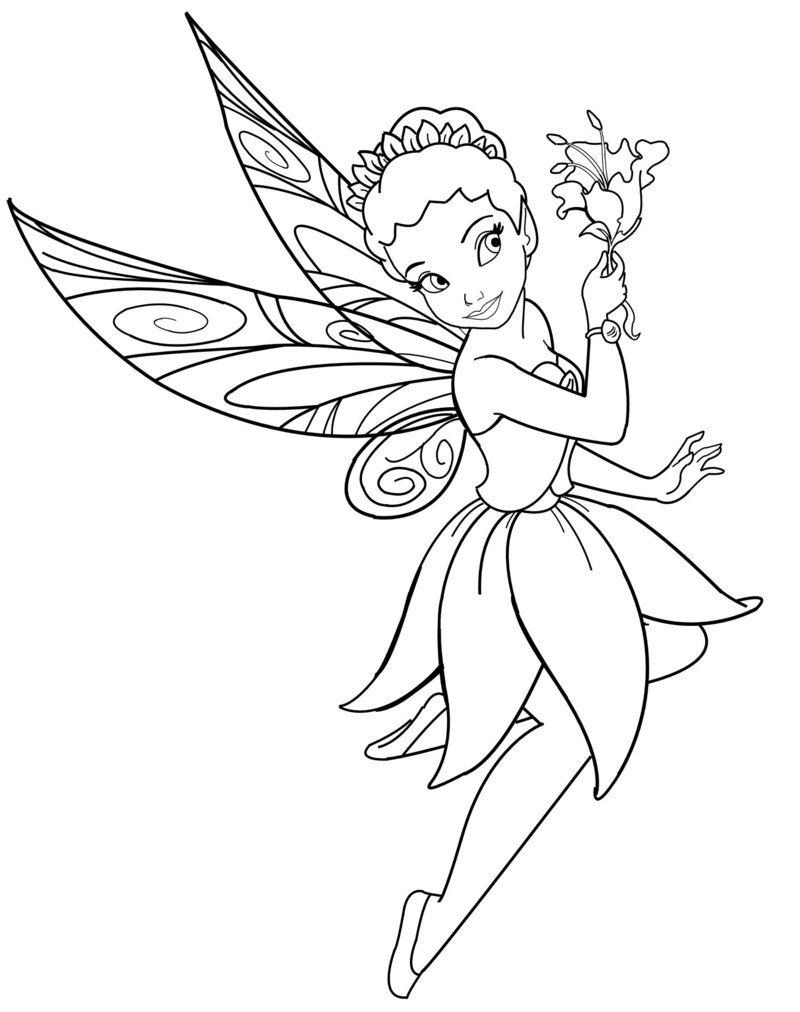 disney fairies coloring pages 01