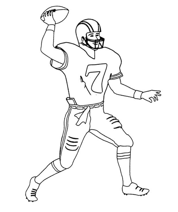 football player coloring pages 01