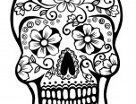 free adult coloring pages sugar skull