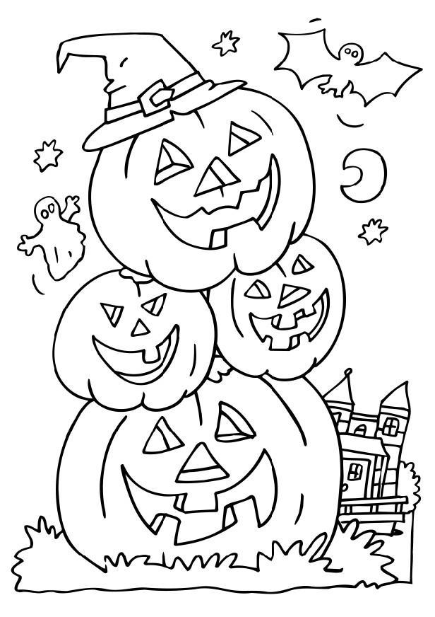 Free Halloween Coloring Pages For Adults 01