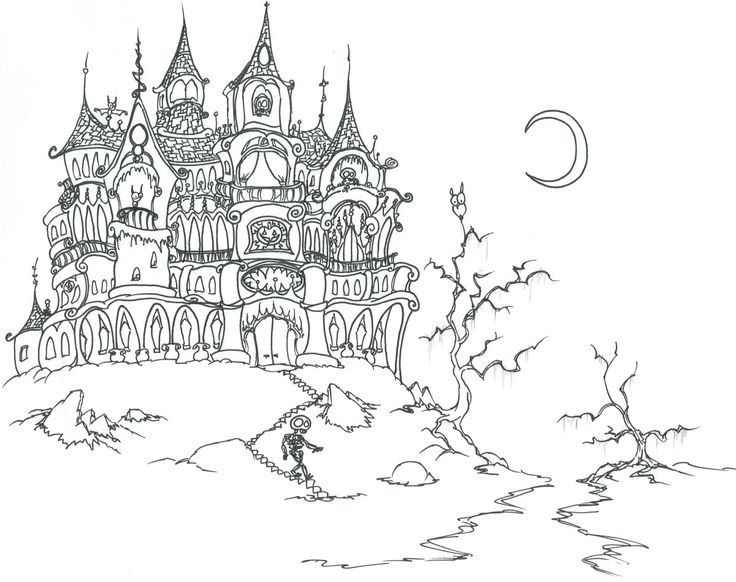 halloween coloring pages for adults 01