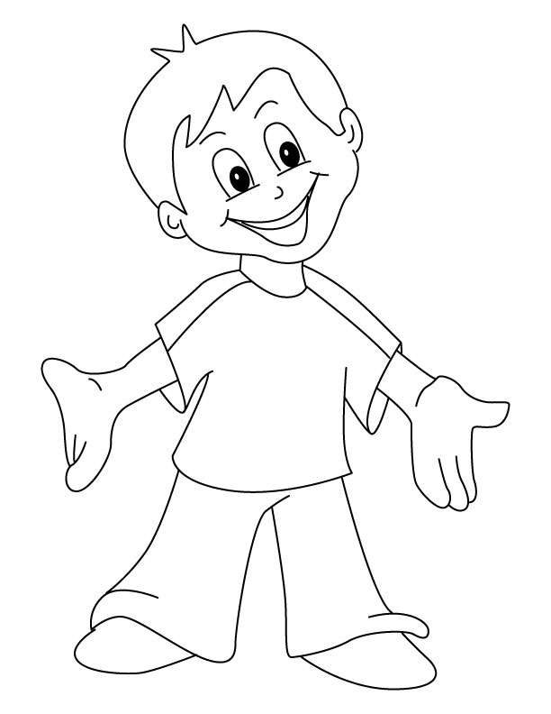 happy coloring page 01
