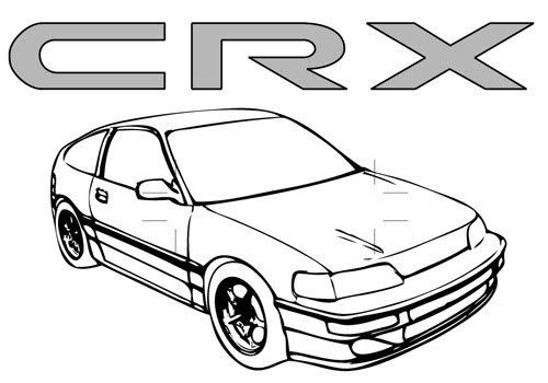 Civic Coloring Pages