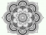 lotus flower mandala coloring pages