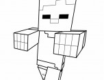 minecraft coloring pages pdf