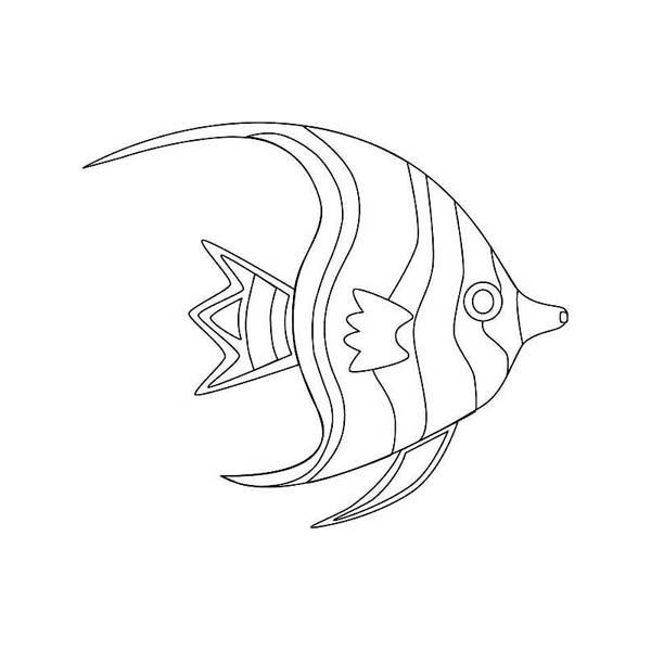 moonfish coloring page