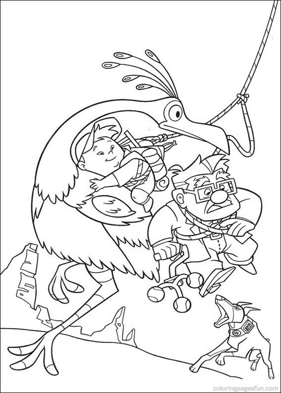 disney up coloring pages - photo#15