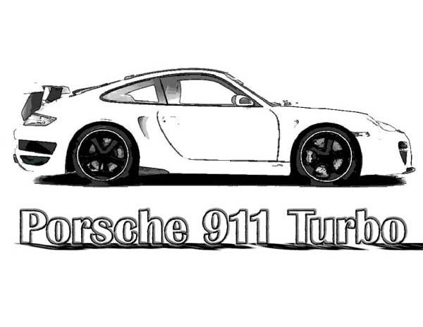 Free Coloring Pages Of Porsche 911 Gt3 Porsche Coloring Pages