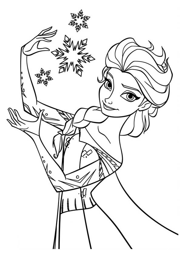 queen elsa coloring pages 01
