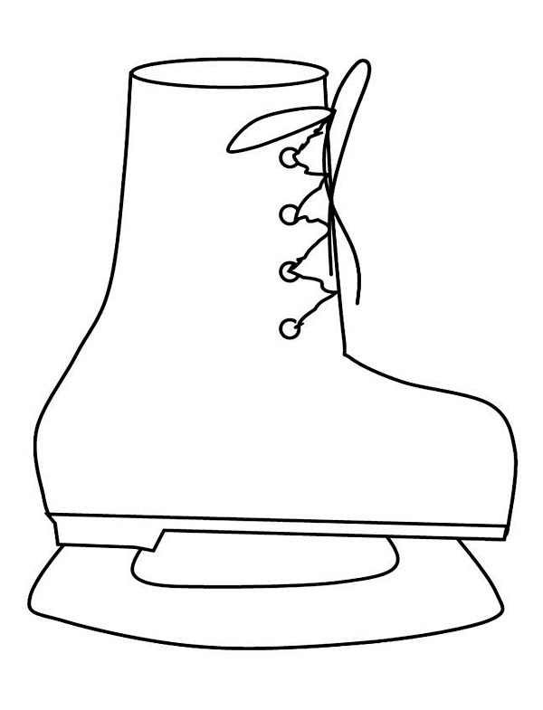 snow boots coloring pages | Only Coloring Pages