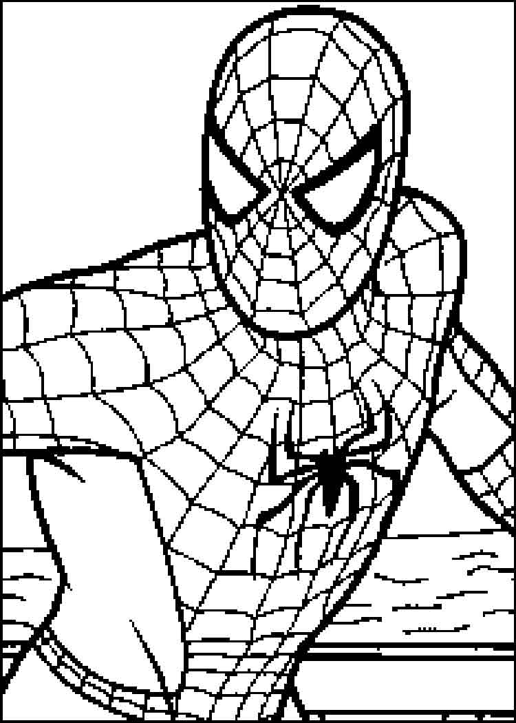 spiderman 4 coloring pages Free