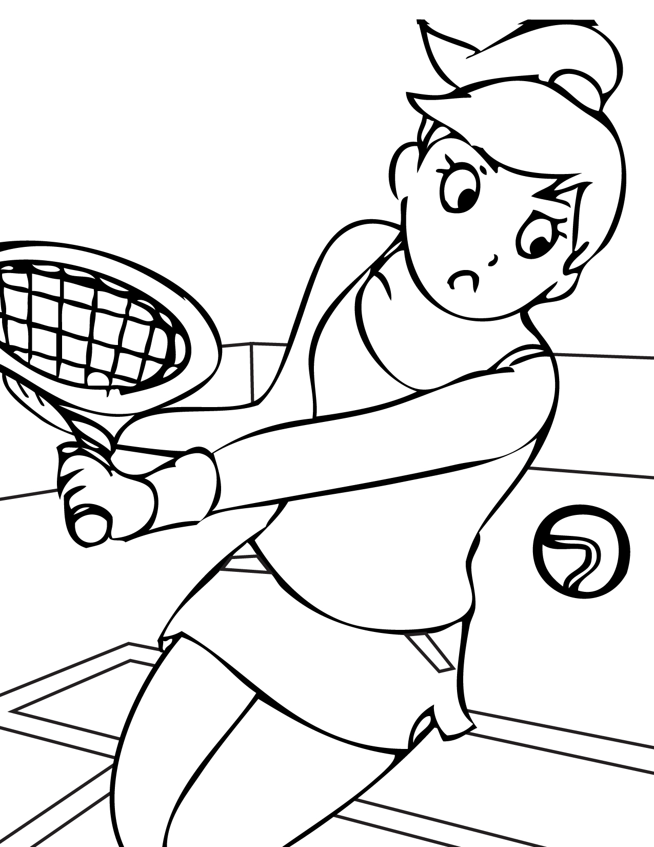 sports coloring pages for kindergarten 01