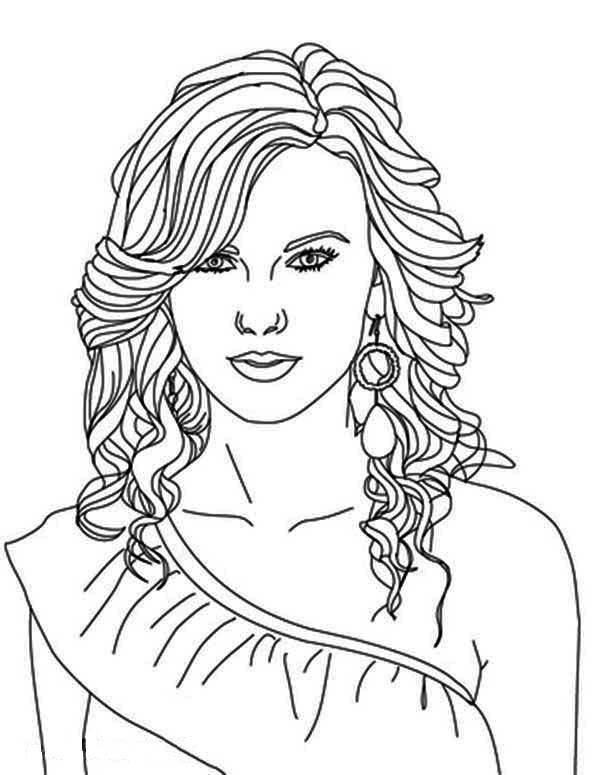 Taylor Swift Coloring Pages 02