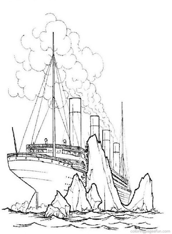 titanic coloring pages for adults | titanic coloring pages | Only Coloring Pages