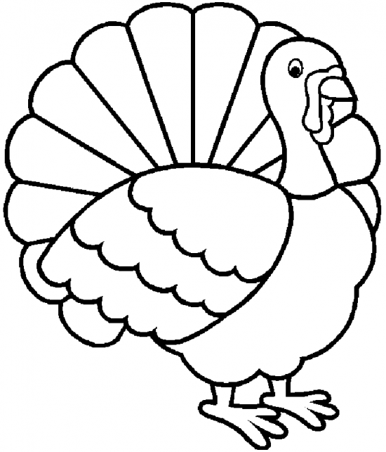 turkey coloring pages 02
