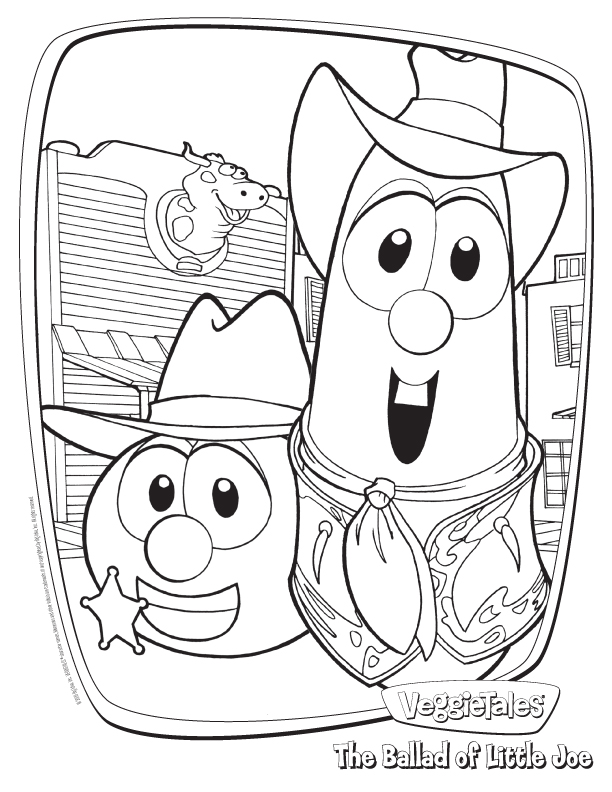 Veggie Tales Coloring Pages 01