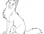 wolf coloring pages for kids printable