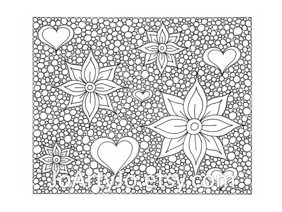 Zendoodling Coloring Page