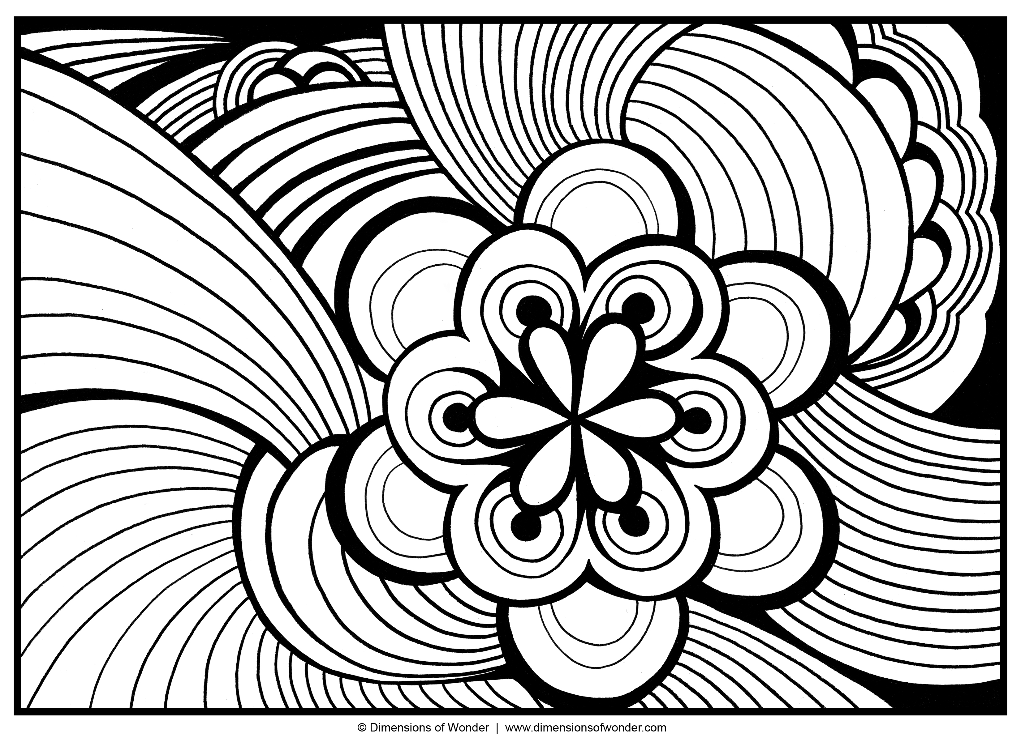 abstract adult colouring pages 01