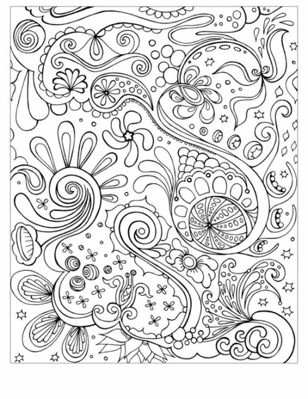 Abstract adult colouring pages only coloring pages for Free coloring pages for adults only