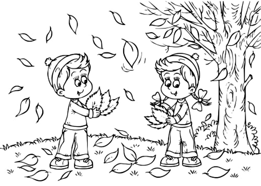 Autumn coloring pages only coloring pages for Fall season coloring pages