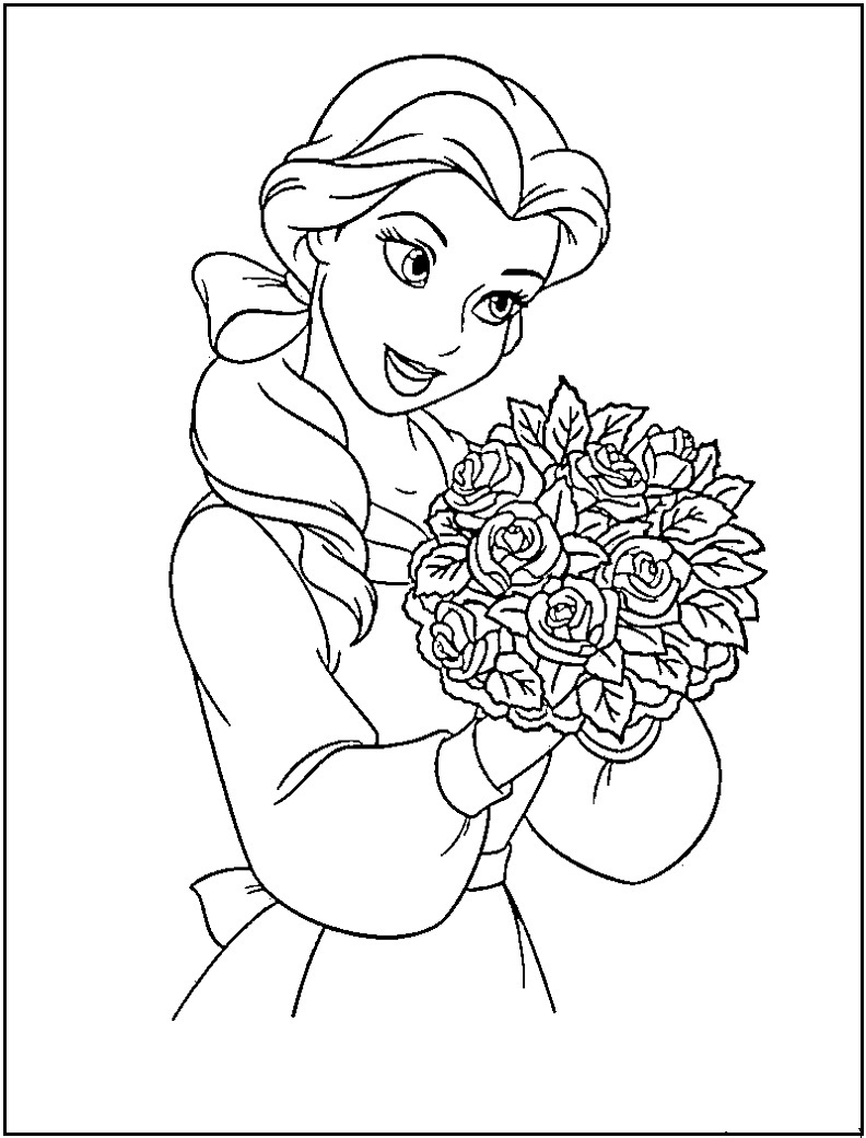 blank coloring pages disney - photo#3