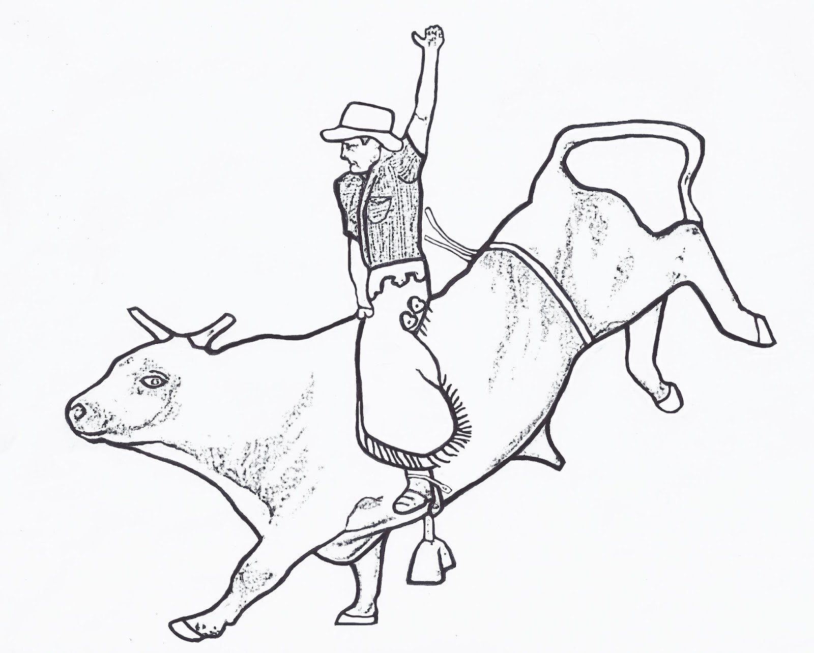 Bull_Riding_Coloring_Pages_02
