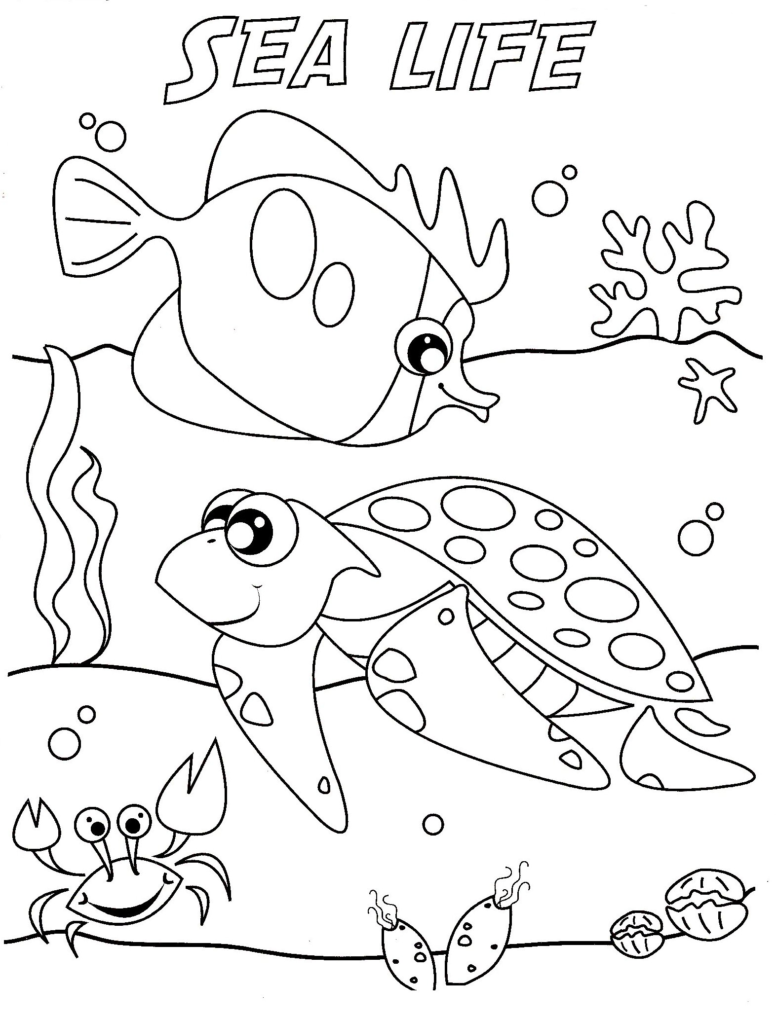 Coloring In The Sea 01