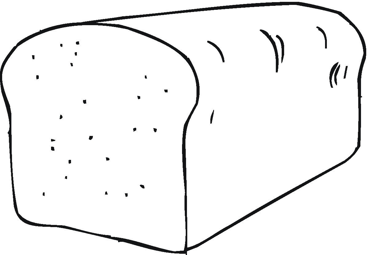 leaven bread coloring pages - photo#36