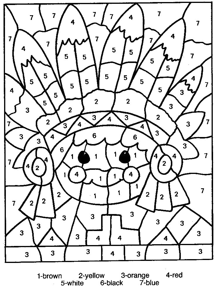 coloring pages by number 01