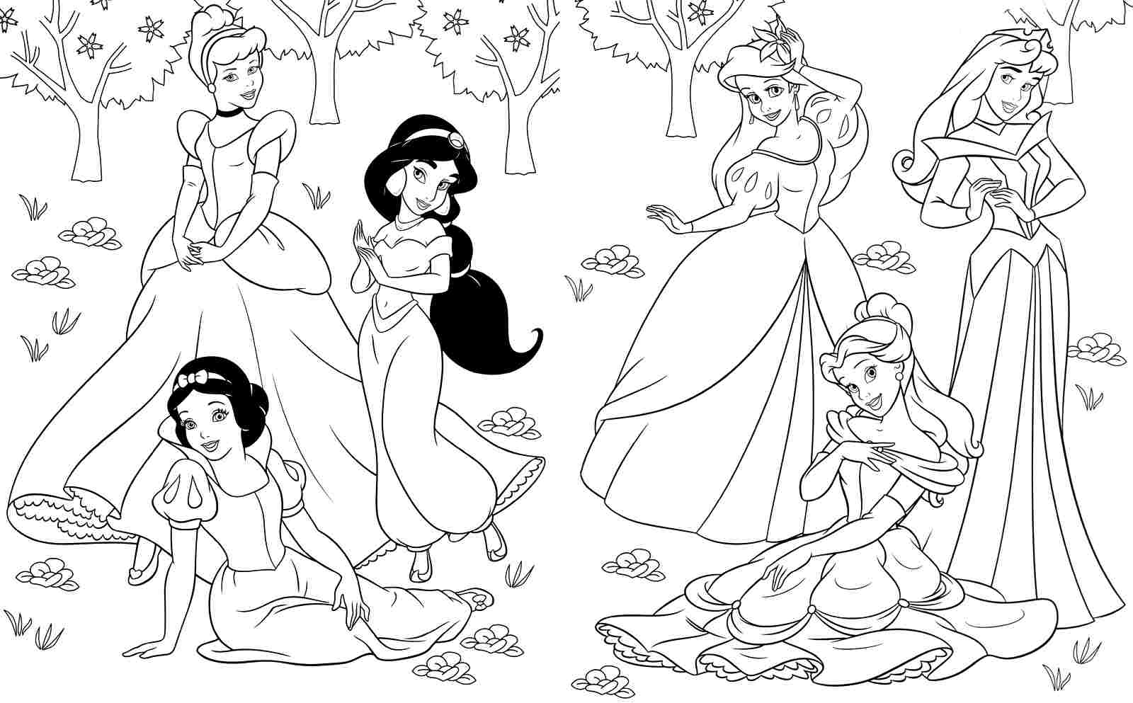 Disney Coloring Pages | Free coloring pages printable for ...