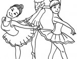 coloring pictures dancers