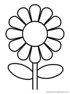 coloring pictures of flowers 01