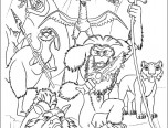 colouring pages ice age 4