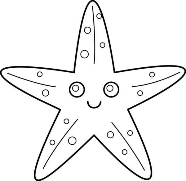 cute starfish coloring pages | Only Coloring Pages