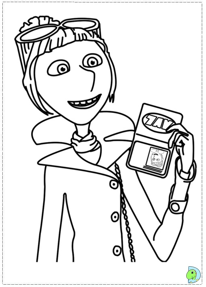 Despicable me 2 coloring pages only coloring pages for Despicable me coloring pages printable