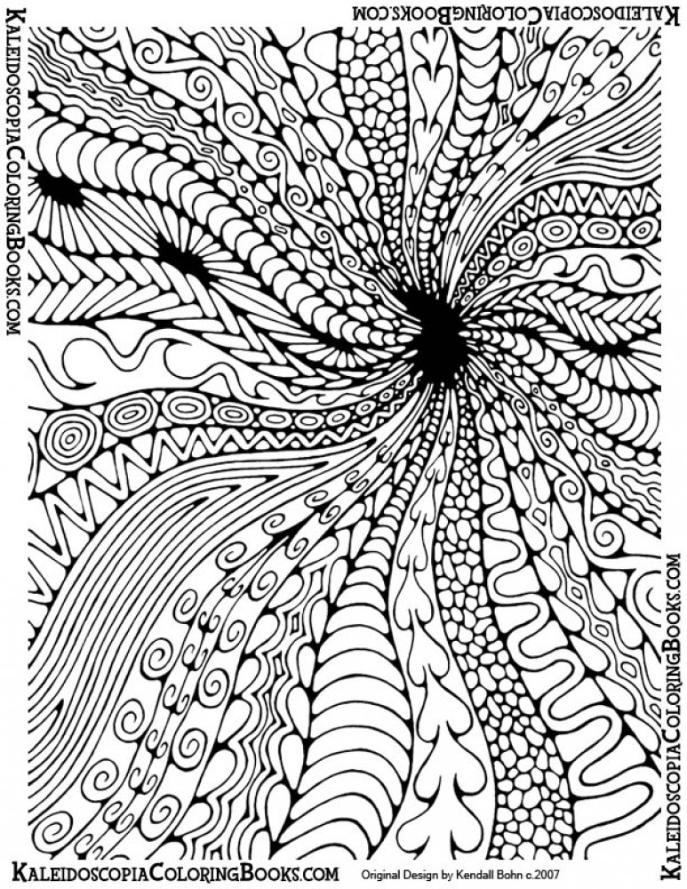 hard coloring pages for free - photo#23