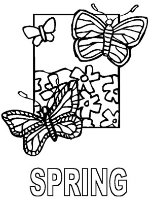 Dltk Spring Coloring Pages 01