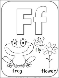 F Coloring Pages For Preschoolers 01