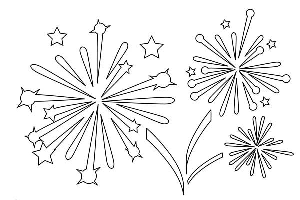 fireworks coloring pages 01