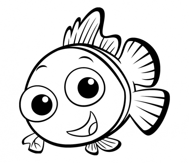 free coloring pages fish - photo#40