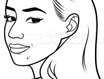 iggy azalea coloring pages