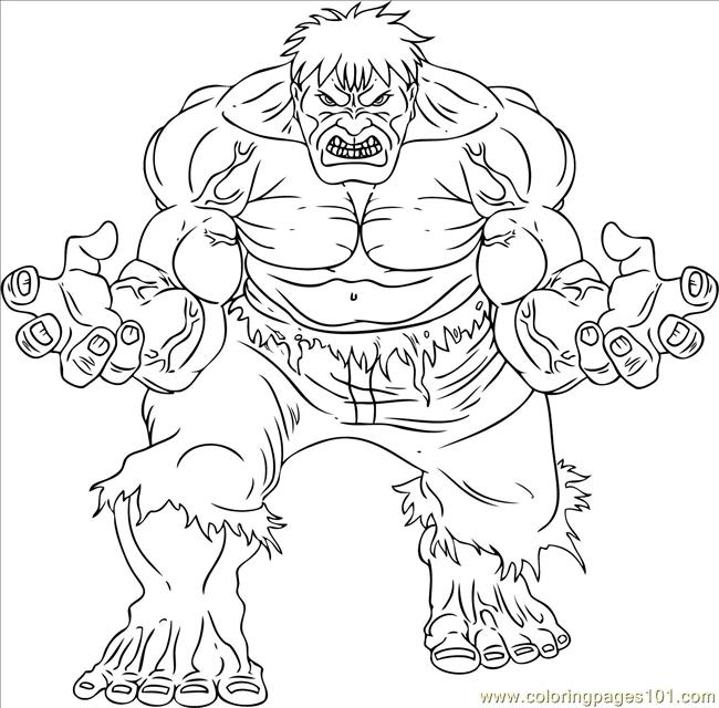 Incredible hulk coloring pages only coloring pages for Incredible hulk coloring page
